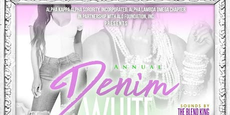 Alpha Lambda Omega - AKA 4TH ANNUAL Denim & White Day Affair tickets