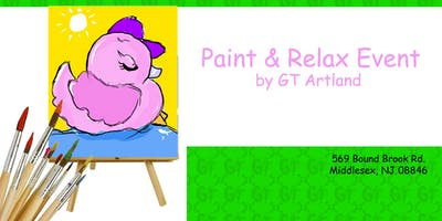 Ducky Paint & Relax Session