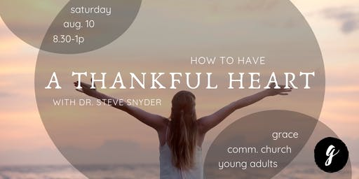 How To Have A Thankful Heart