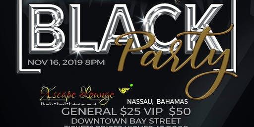 Black Party Nassau Bahamas Xsca