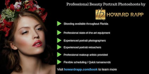 Beauty Portrait Photoshoots Seeking Models - Boca Raton