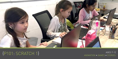 Coding for Kids - P101: Scratch 1 Course (Ages 7-9) @ Grassroots Club tickets