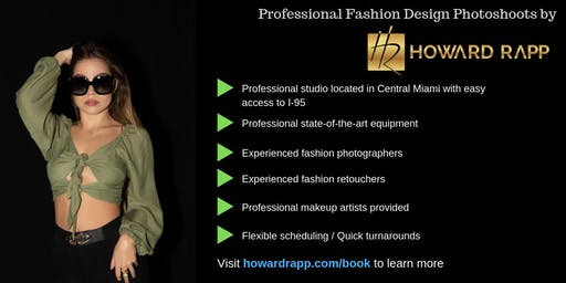 Fashion Designers - Fashion Design Photoshoots in Miami