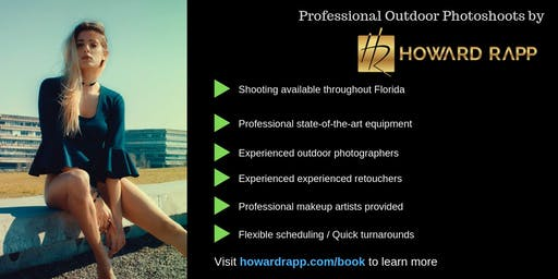 Professional Outdoor Photoshoots in Miami