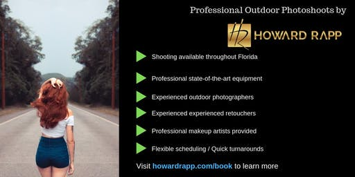 Professional Outdoor Photoshoots in Fort Lauderdale