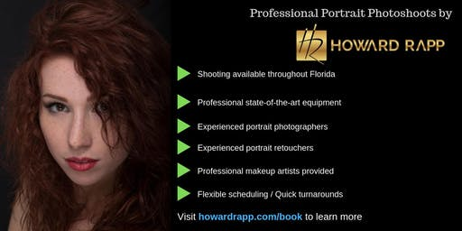 Professional Portrait Photoshoots in Miami