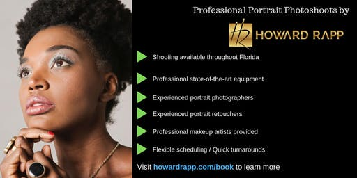 Professional Portrait Photoshoots in Coconut Grove