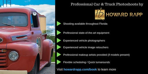 Professional Car Photoshoots in Miami