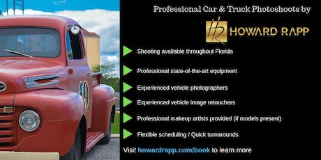 Professional Car & Truck Photoshoots tickets