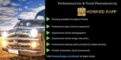 Professional Car & Truck Photoshoots