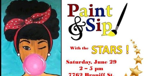 Starlight #2 presents Paint & Sip with the STARS Fundraiser!