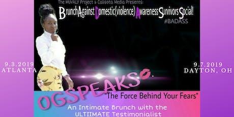 B.runch A.gainst D.omestic(violence) A.wareness- S.urvivors S.ocial! (#BADASS) tickets