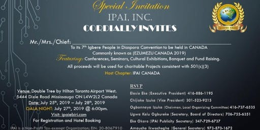 Igbere Progressive Association Intl. Convention 2019