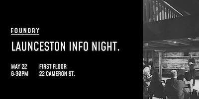 Launceston Info Night   Wednesday, 22 May