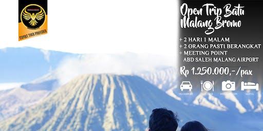 Open Trip Batu Malang Bromo - 2 hari 1 malam - 2 can go