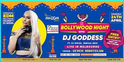 BOLLYWOOD NIGHT WITH DJ GODDESS