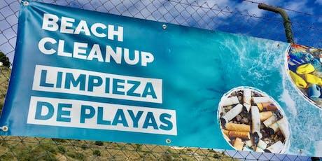 Limpieza de Playas entradas
