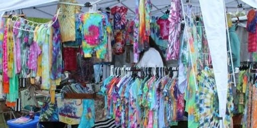 Big Beautiful Family-Sized Tie-Dye Class on Friday, July 5th