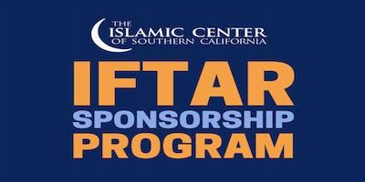 Iftar Sponsorship 2019