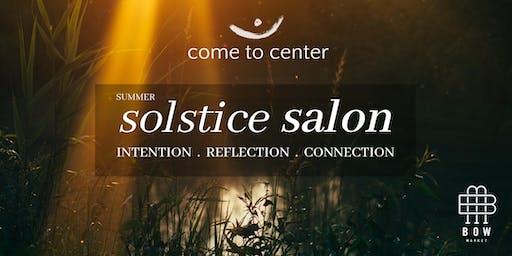 Summer Solstice Salon