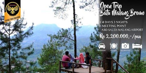 Open Trip Batu Malang Bromo 4 hari 3 Malam
