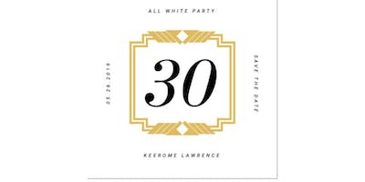 Keerome's All White 30th Birthday Party