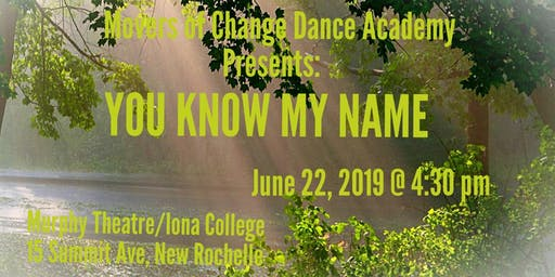 You Know My Name Production 2019