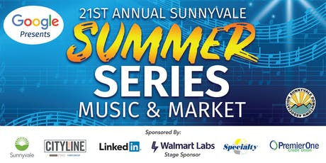 Sunnyvale Summer Series Music + Market 2019 tickets