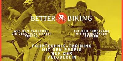 Kostenloses BETTER-BIKING Fahrtechnik-Training für Erwachsene @ VELOBerlin
