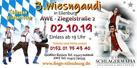 3 Wiesngaudi in Eilenburg Tickets