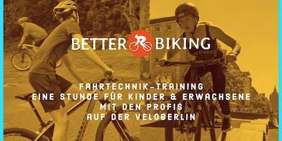 BETTER-BIKING Fahrtechnik-Training für Kinder auf der VELOBerlin