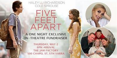 "\""Five Feet Apart\"" movie fundraiser for Claudia"