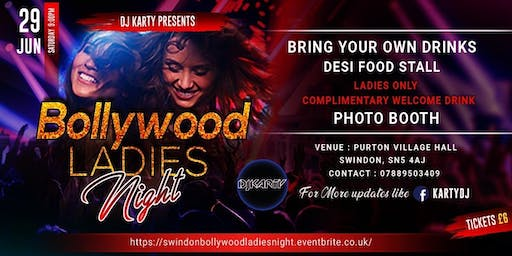 Bollywood Ladies Night