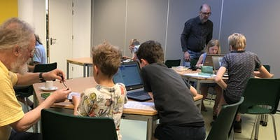 CoderDojo in Heiloo #19-4
