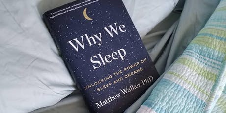 EBBC Brussels - Why we sleep (M. Walker) tickets