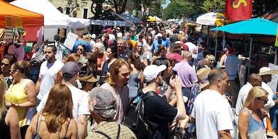 Nyack Famous Street Fair, Sun. May 19, 10 to 5