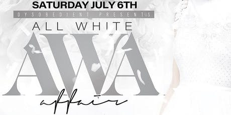 All White Affair tickets