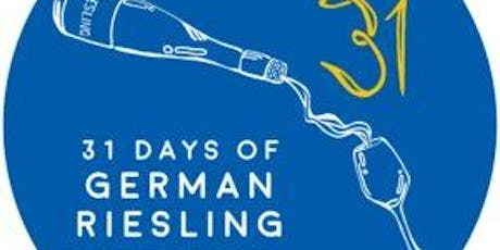 31 Days of German Riesling Party tickets