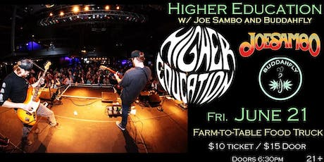Higher Education at Soundcheck Studios tickets