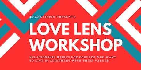 Love Lens Workshop - Nov 9th 2019 tickets