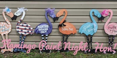 Flamingo Paint Night