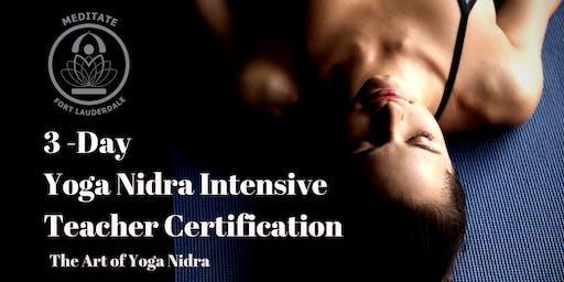July 3-Day Yoga Nidra Intensive Retreat & Teacher Training Course