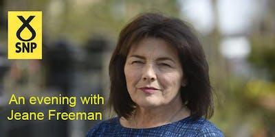 Jeane Freeman, SNP Hamiton Guest Speaker