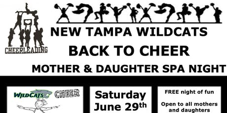 BACK TO CHEER MOTHER & DAUGHTER SPA NIGHT tickets