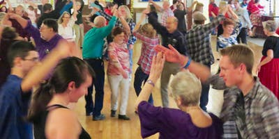 Fun Intro to Square Dance with the Wild Rose Ramblers