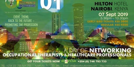 OCCUPATIONAL THERAPISTS & HEALTHCARE PROFESSIONALS DAY OF NETWORKING tickets