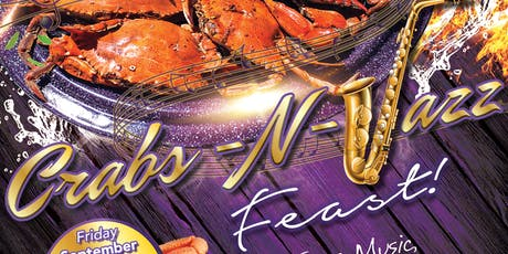 """Lambda Gamma Gamma (LGG) 1st Inaugural """"Crabs-N-Jazz"""" Feast 2019 tickets"""