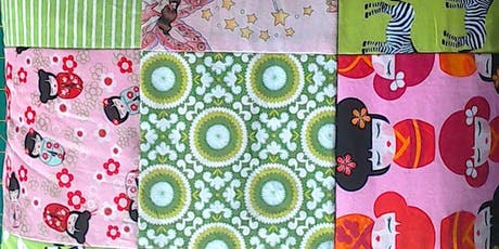 Beginner's Machine Patchwork - Nine Square Cushion tickets