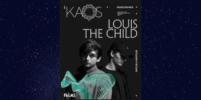LOUIS THE CHILD @ KAOS NIGHTCLUB FREE SHOW! 6.23 TXT 303.437.9559