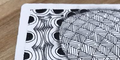 Zentangle: Organic Tangles! (Ages 15-adult)